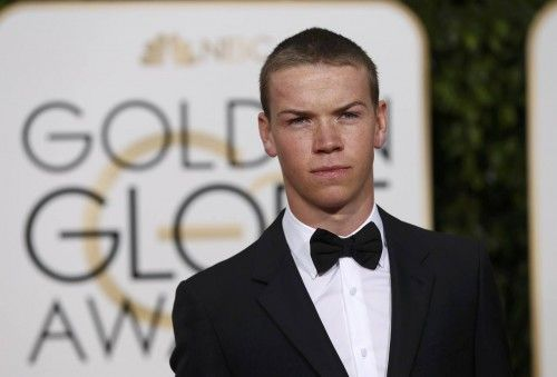 Will Poulter arrives at the 73rd Golden Globe Awards in Beverly Hills