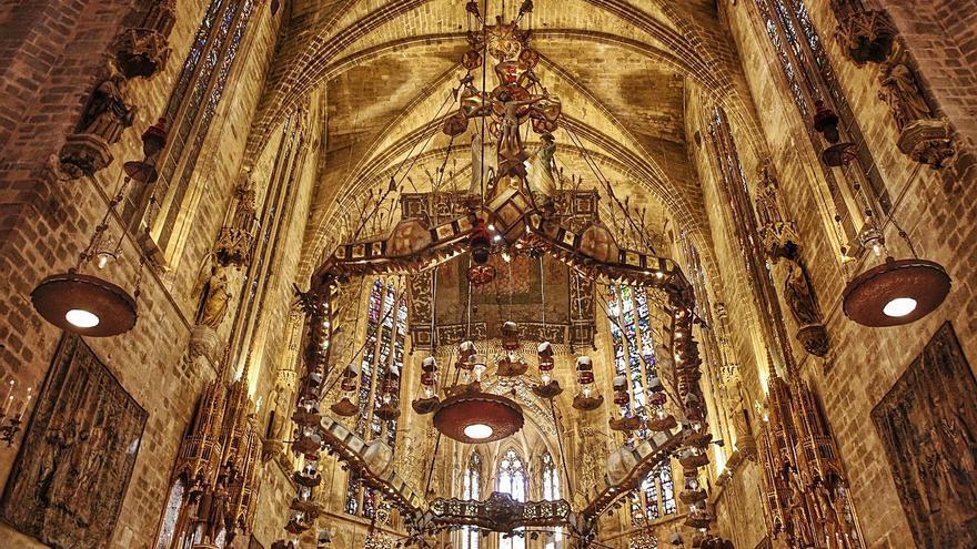 El canal Arte grabará en la Catedral de Mallorca un documental sobre Gaudí