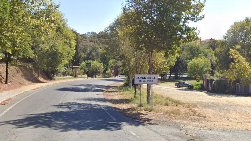 Un motorista de 48 años fallece al sufrir un accidente cerca de Jarandilla de la Vera