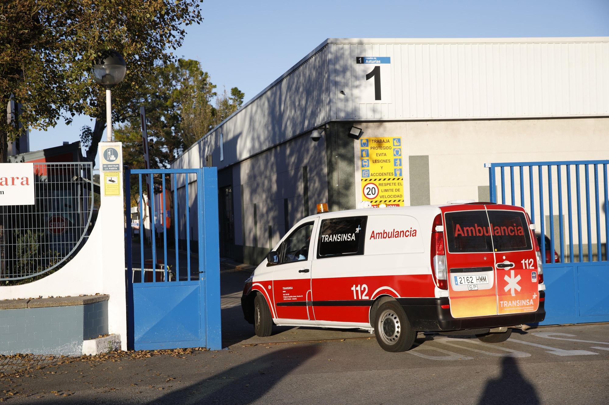 Llegan los primeros pacientes al hospital de la Feria de Muestras