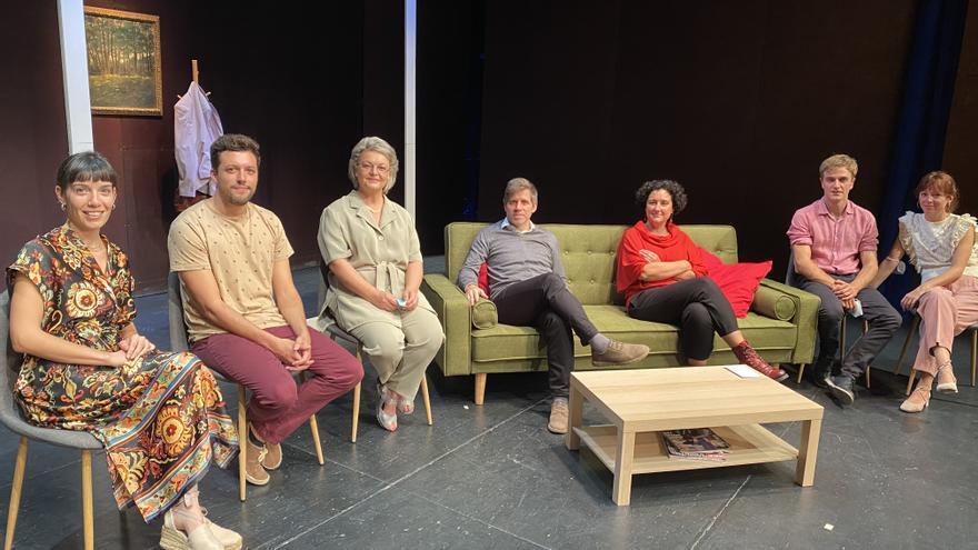 La producció teatral «Primavera», espectacle de Sant Martirià a Banyoles