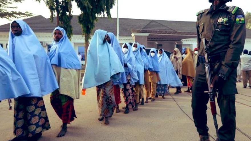 Secuestrados 200 estudiantes de una escuela en Nigeria