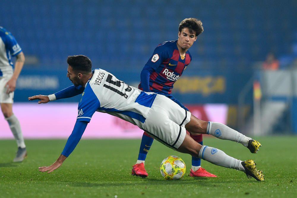 Barça B - Hércules: las imágenes del partido