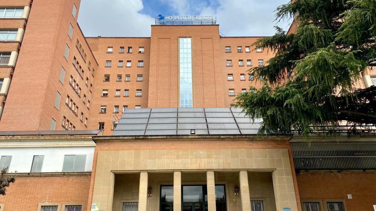 Pla general de l'hospital Trueta de Girona