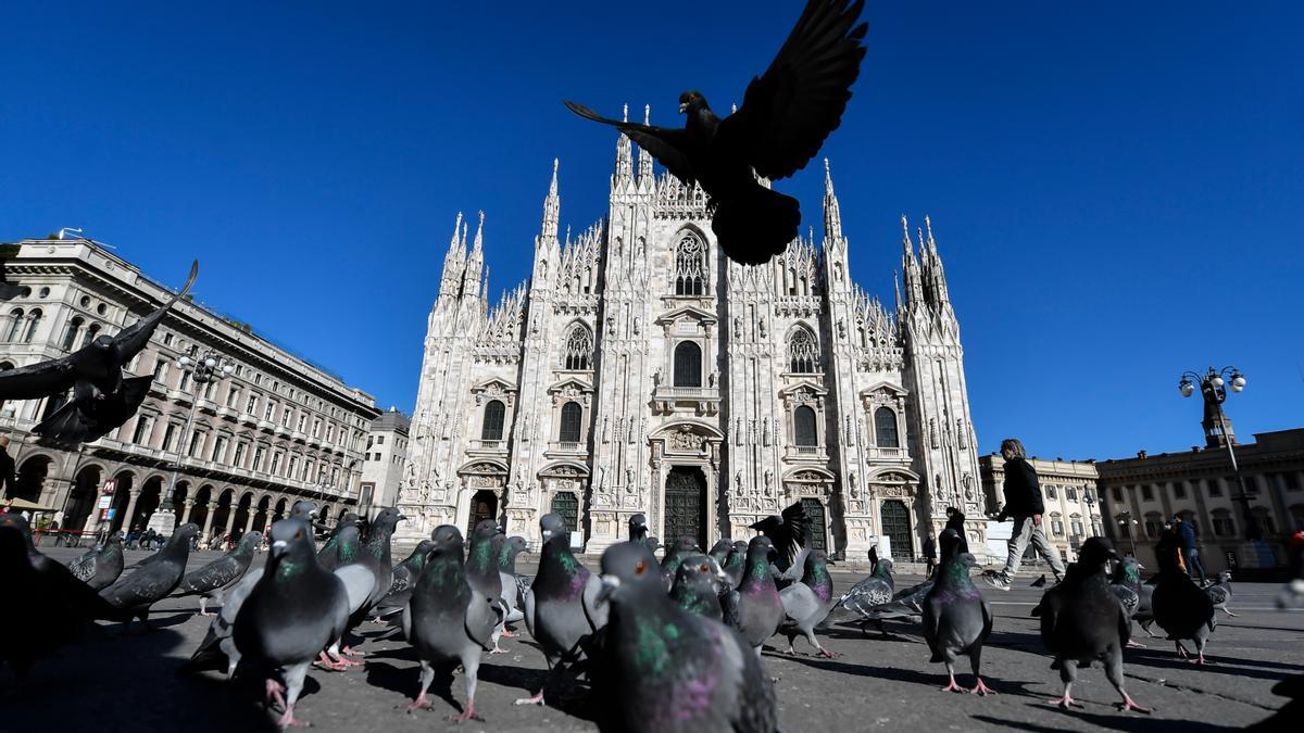 El Duomo de Milán.