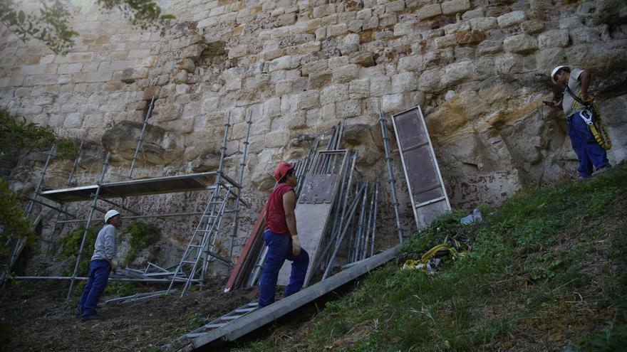 Zamora | Comienzan las obras de la Muralla en Trascastillo
