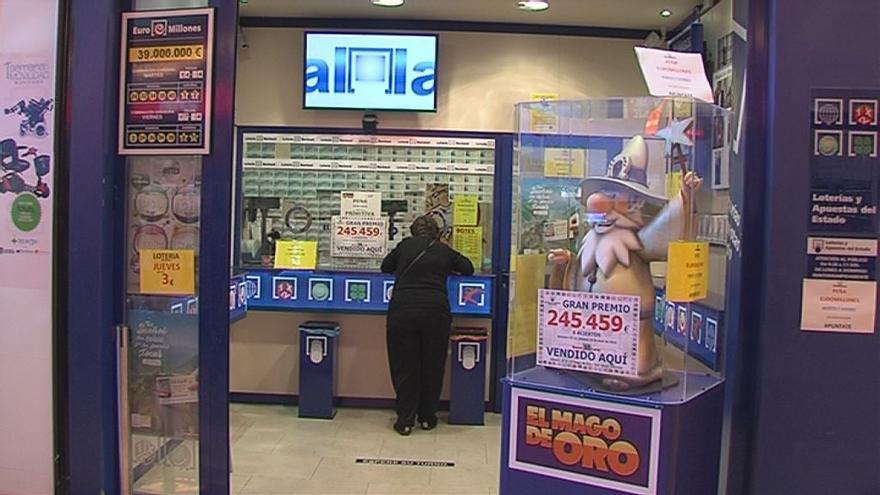 La Lotería Nacional se deja caer por el Dos Mares