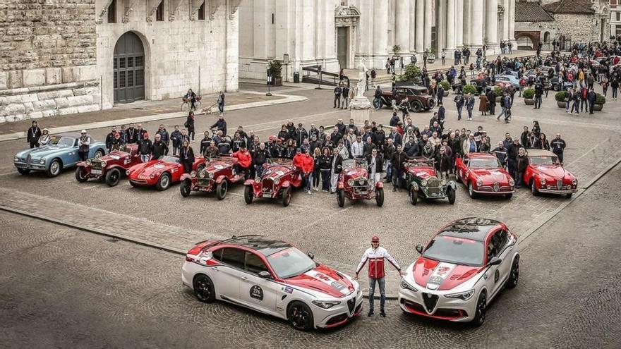 """Alfa Romeo será patrocinador oficial de la """"1000 Miglia"""" 2020"""