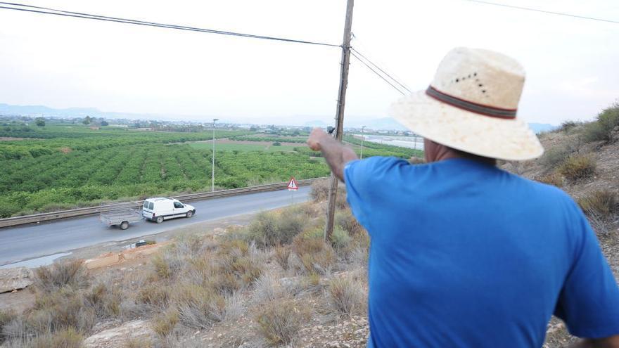Los afectados llevan el trazado de la autovía del Bancal a los juzgados