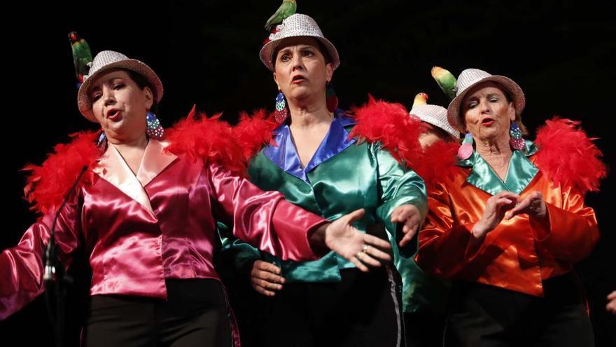 Carnaval de mayores en el Gran Teatro