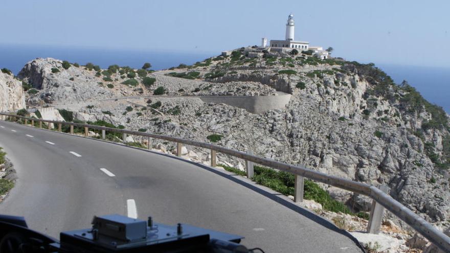 Inselrat sperrt Zufahrt zum Kap Formentor ab Port de Pollença