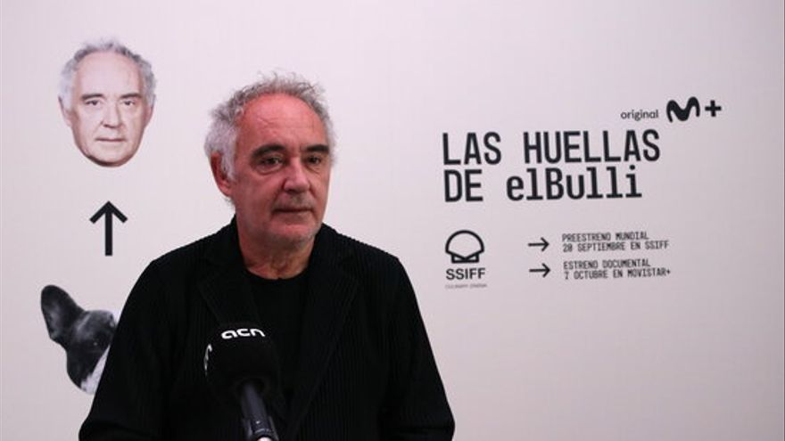 El Festival de Sant Sebastià redescobreix el llegat creatiu de Ferran Adrià en el documental 'Las huellas de elBulli'