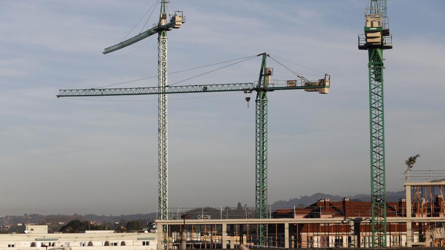 Gijón inicia ya el doble de pisos que en 2018 y se consolida como motor de la construcción regional