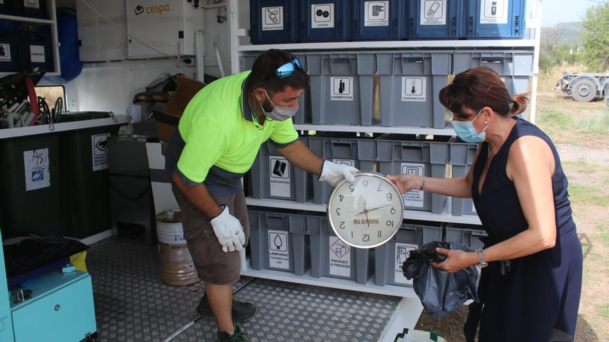 Onda y Reciplasa acercan el ecoparque móvil a los vecinos para fomentar el reciclaje
