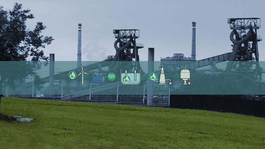 ArcelorMittal ya elabora los proyectos de las plantas de acero verde de Gijón