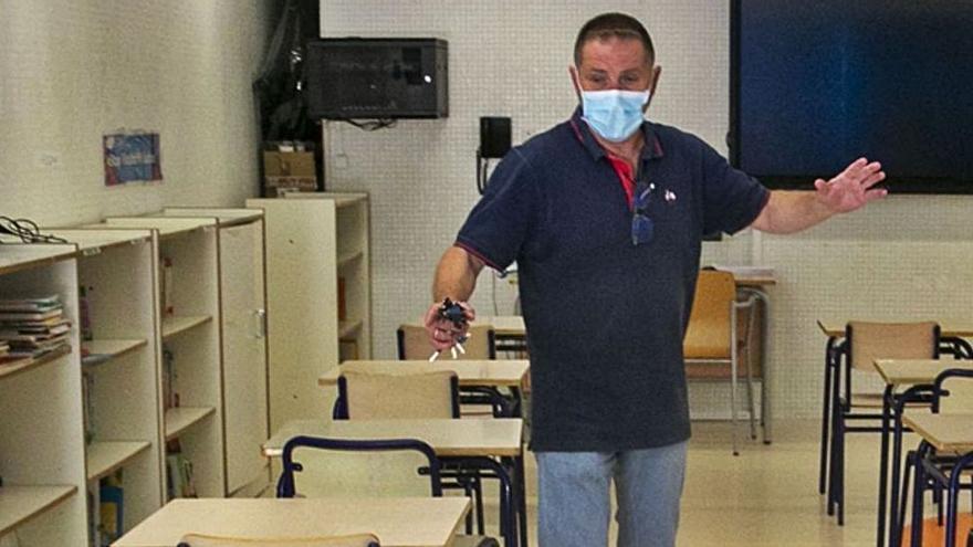 Los directores, forzados a comprimir las aulas al máximo para dar las clases presenciales