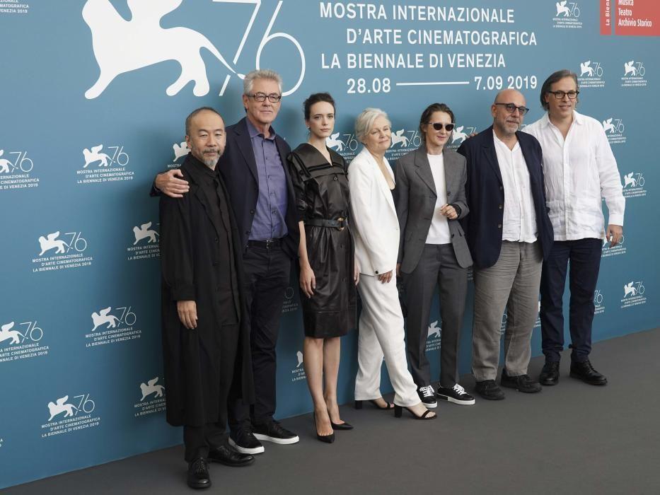 Jury photo-call at 2019 Venice Film Festival