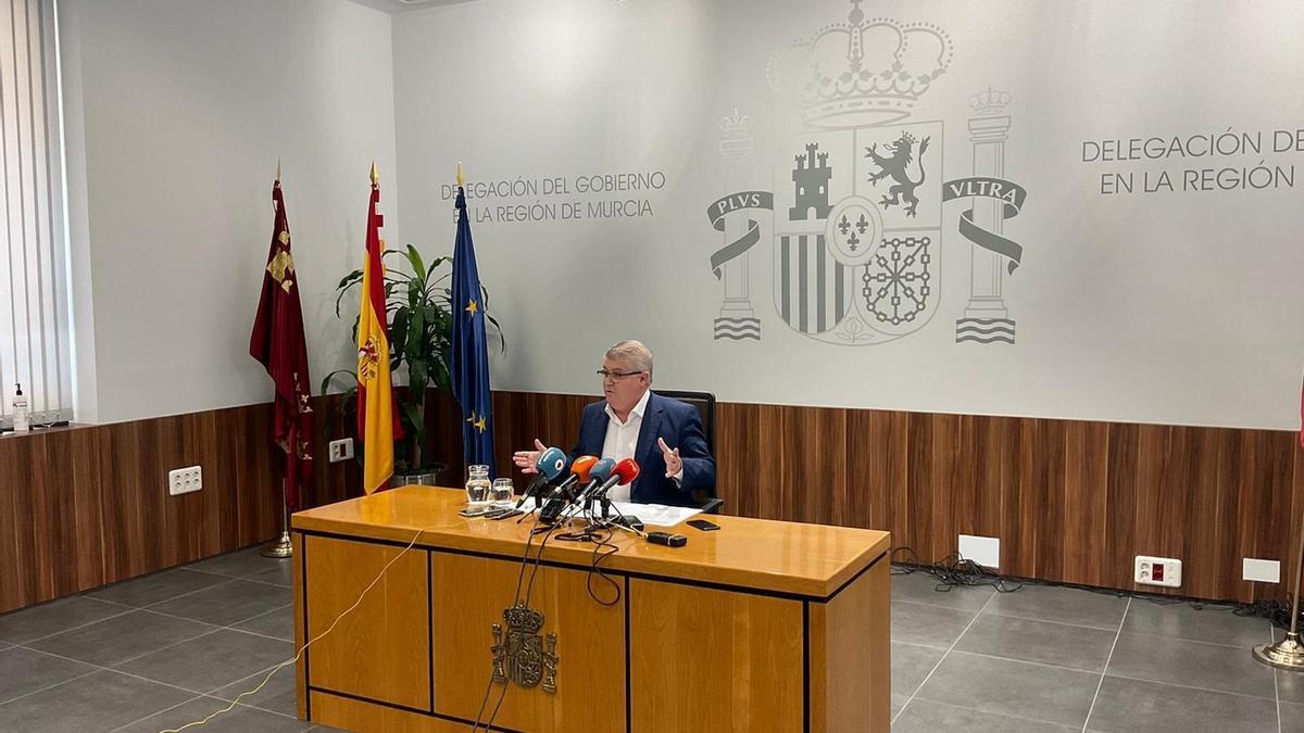 José Vélez, durante la rueda de prensa.