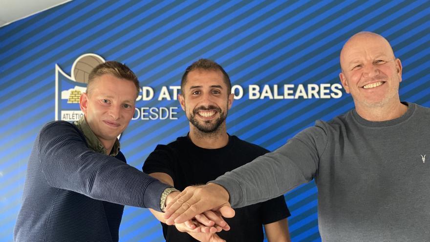 El Atlético Baleares renueva a Canario hasta 2023