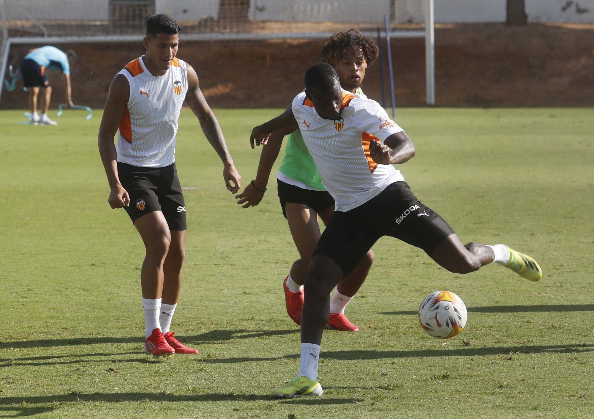 Entrenamiento matinal del Valencia CF 9-9-21