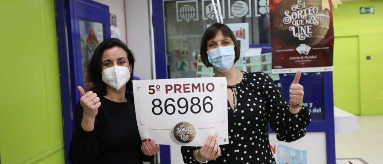 La Lotería de Navidad reparte suerte en Aragón