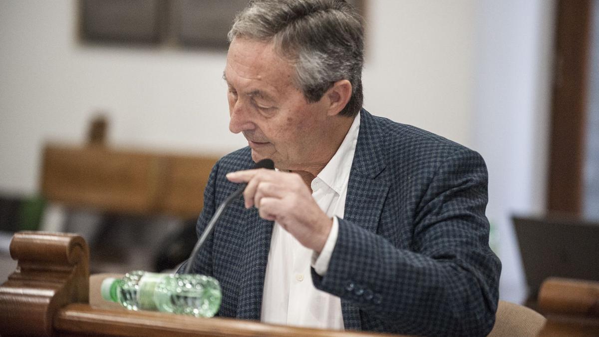 Jesús María Saldaña, portavoz de Cs en el Ayuntamiento de Benavente.