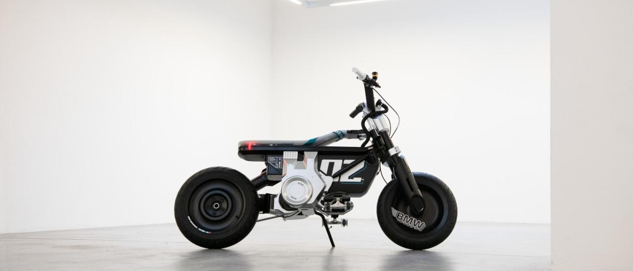 BMW Motorrad Concept CE 02: revolución urbana