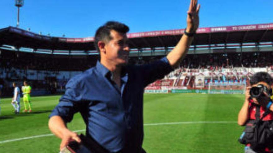 """Almirón: """"Tengo la ilusión de entrenar algún día a Las Palmas"""""""