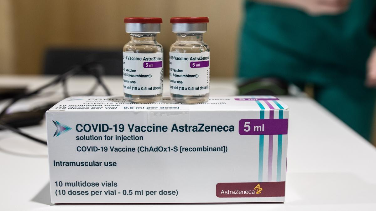 Vacunación contra el COVID en Zamora con AstraZeneca.