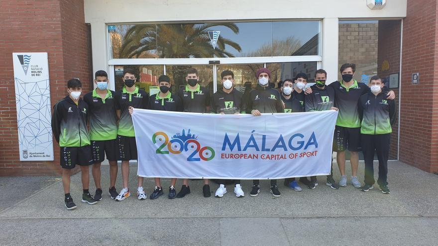 Tercer empate consecutivo del Waterpolo Málaga