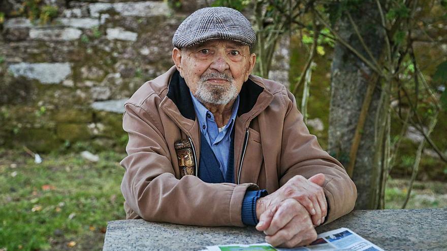 """Cándido, 97 años: """"Tengo la ilusión de que la vacuna nos saque de esto"""""""