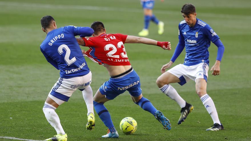 Las puntuaciones del Sporting y el Oviedo en el derbi: así han rendido los jugadores en el partidazo de Asturias