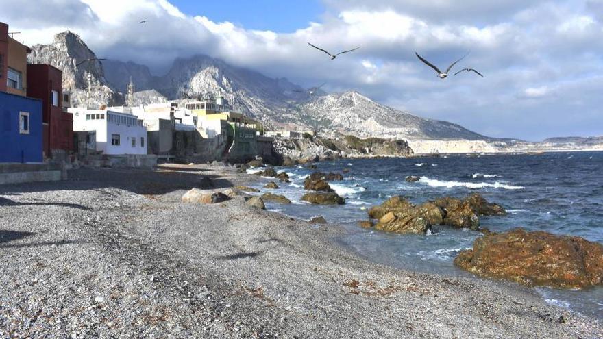 Playa de Benzú de Ceuta.