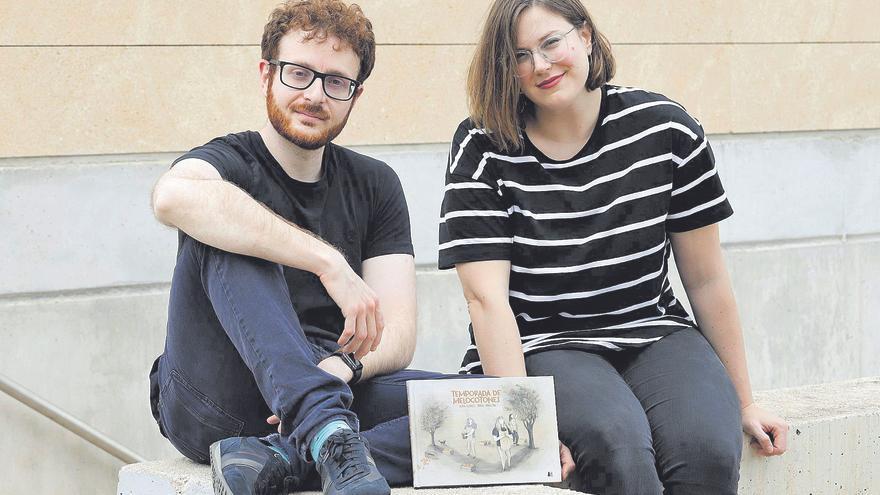 """Ángel Abellán y Alba Flores: """"Hay una serie de secuelas generacionales que a los millennials nos persiguen"""""""