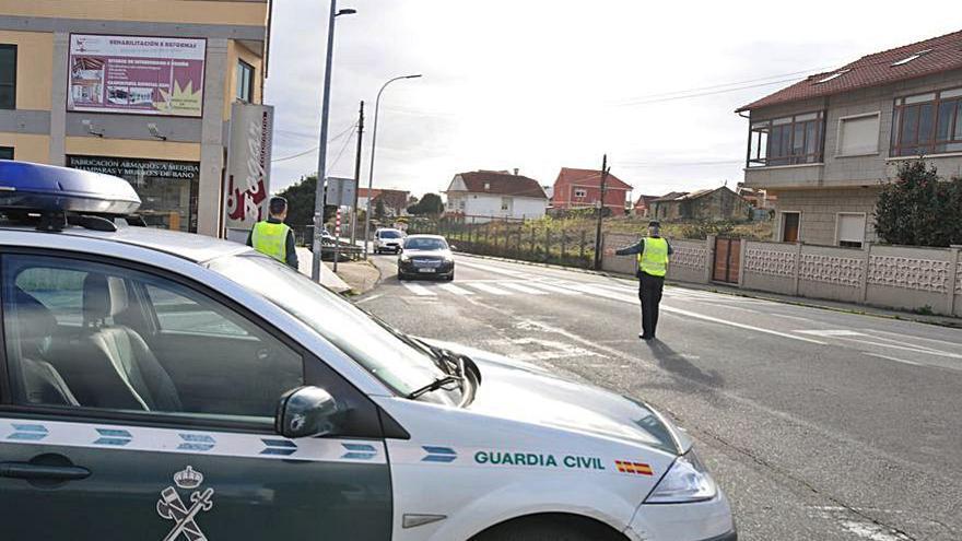 Alarma en Moaña por la persecución a un BMW