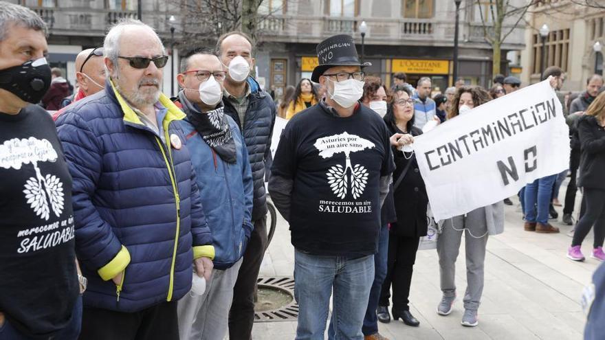 Protestas de estudiantes en Gijón