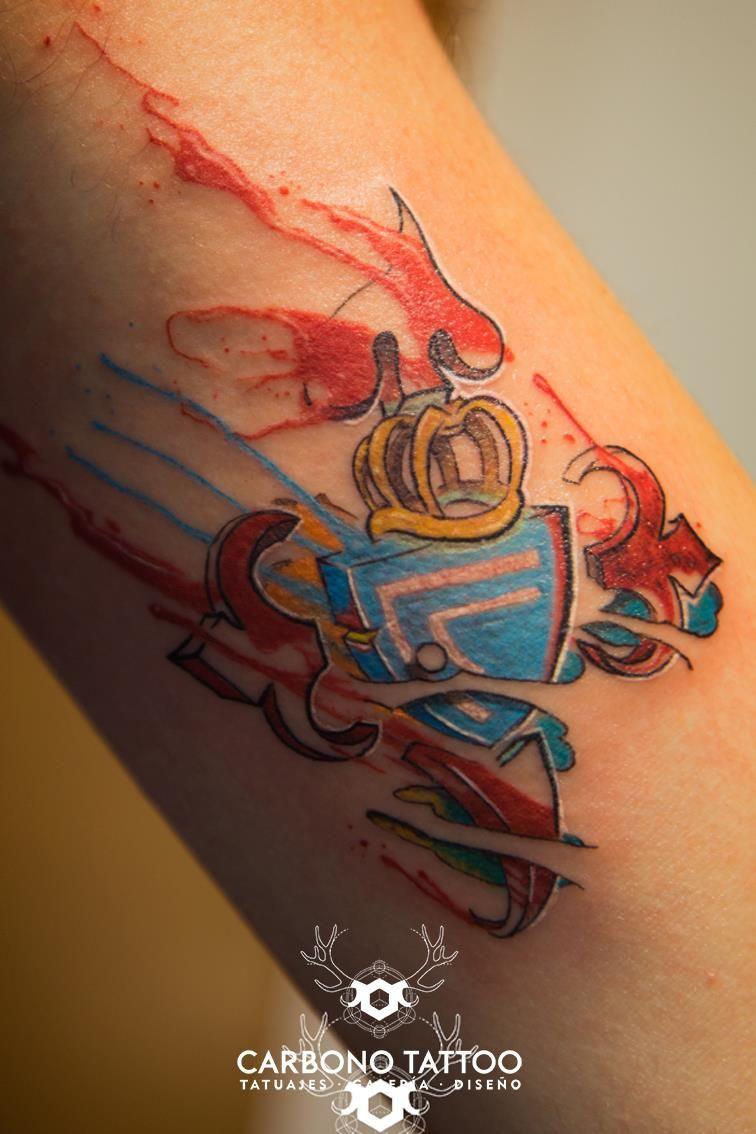 Escudo del Celta. // Miguel Castro (Carbono Tattoo)
