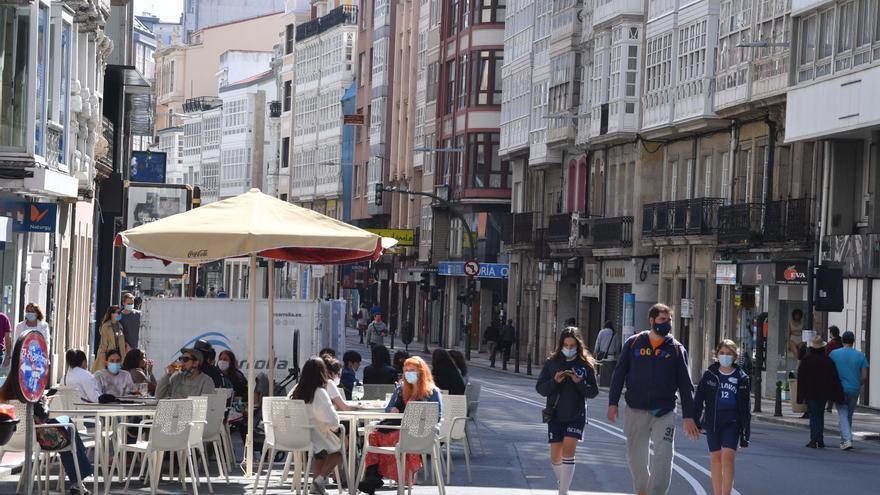 La calle San Andrés, cortada esta tarde por la Semana de la Movilidad