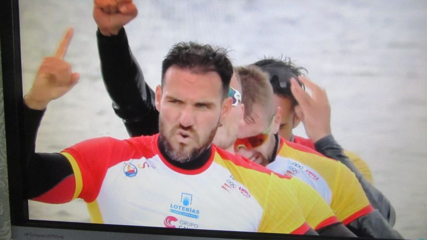 El K-4 500 metros de España, con Craviotto de capitán, medalla de oro en la Copa del Mundo de Szeged (Hungría)