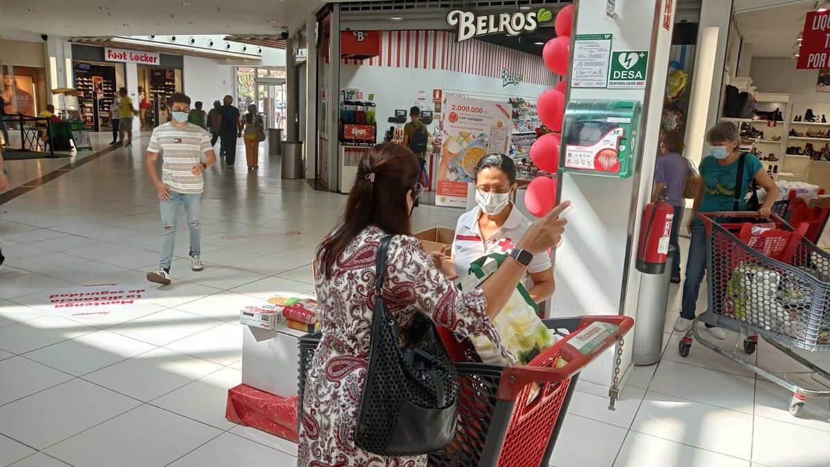 Red Cross will distribute more than 39,000 breakfasts and snacks for children in the Canary Islands