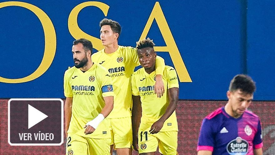 El Villarreal ahonda en la grave crisis del colista Valladolid