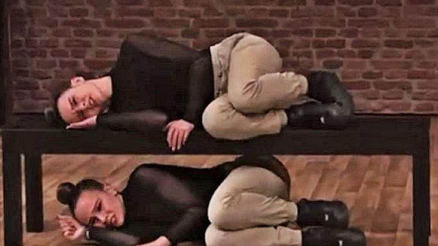Les bessones Rodà de Capmany brillen a l'escenari del «The Dancer» de TVE
