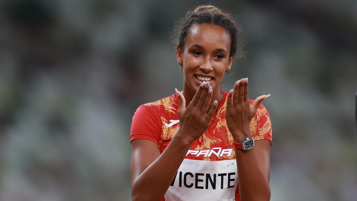 La atleta española, María Vicente.