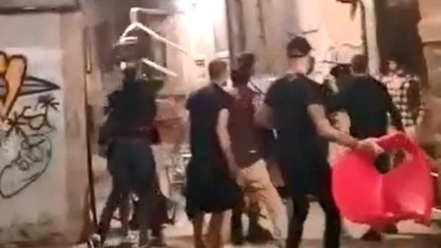 Pelea multitudinaria en Ourense con dos apuñalamientos