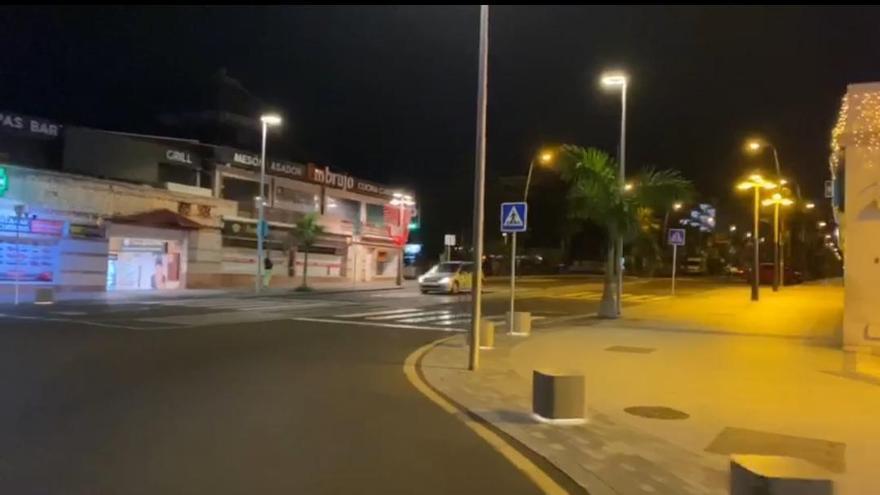 El escalofriante antes y después de la 'Milla de Oro' de Tenerife