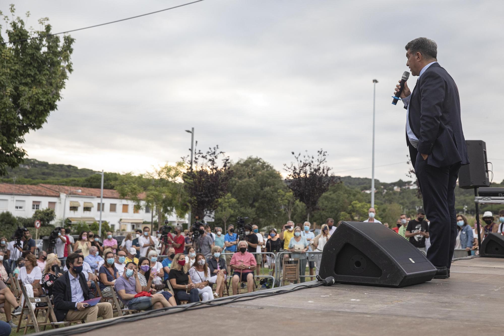 Bany de masses de Laporta a S'Agaró