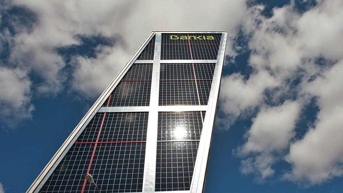Sede opèrativa de Bankia en Madrid.