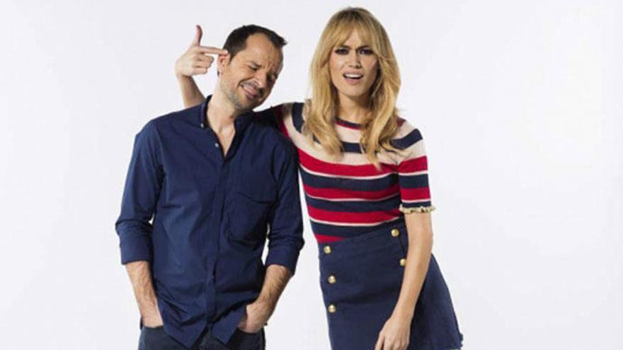 Ángel Martín y Patricia Conde vuelven juntos a la televisión para 'dar cera'