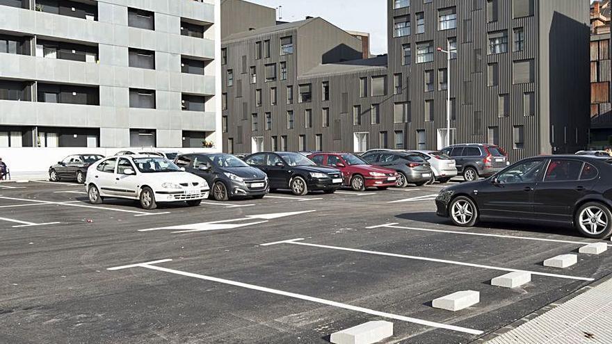 Entra en servicio de forma parcial el nuevo parking de la Mayacina