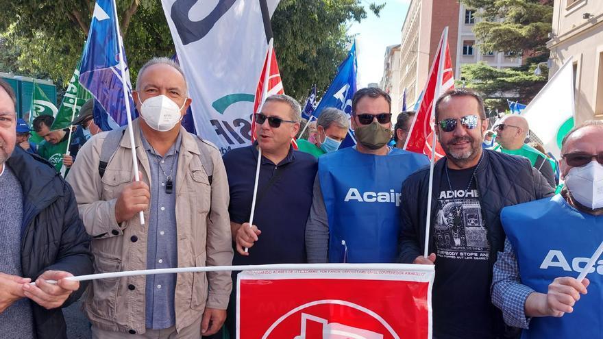 Funcionarios de la prisión de Asturias se manifiestan en Cuenca para pedir 125 contrataciones